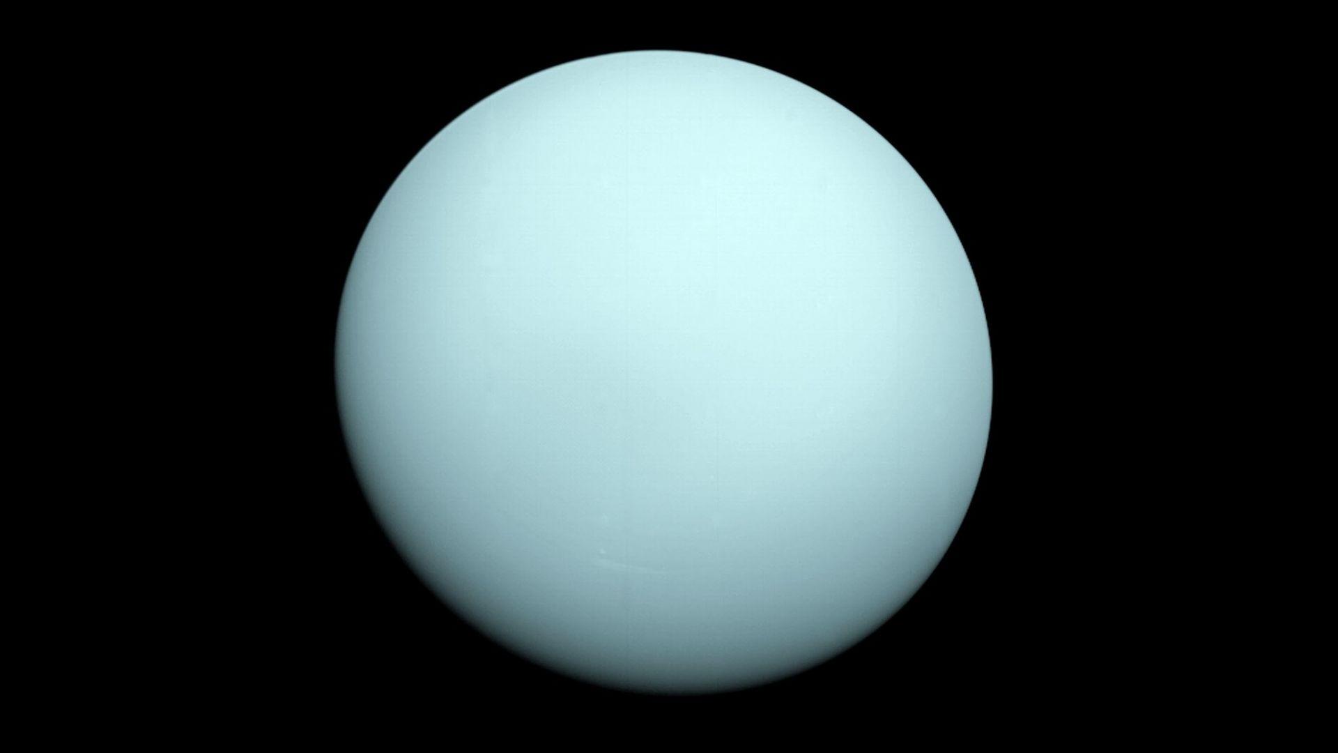 Нептун и Уран се състоят предимно от вода