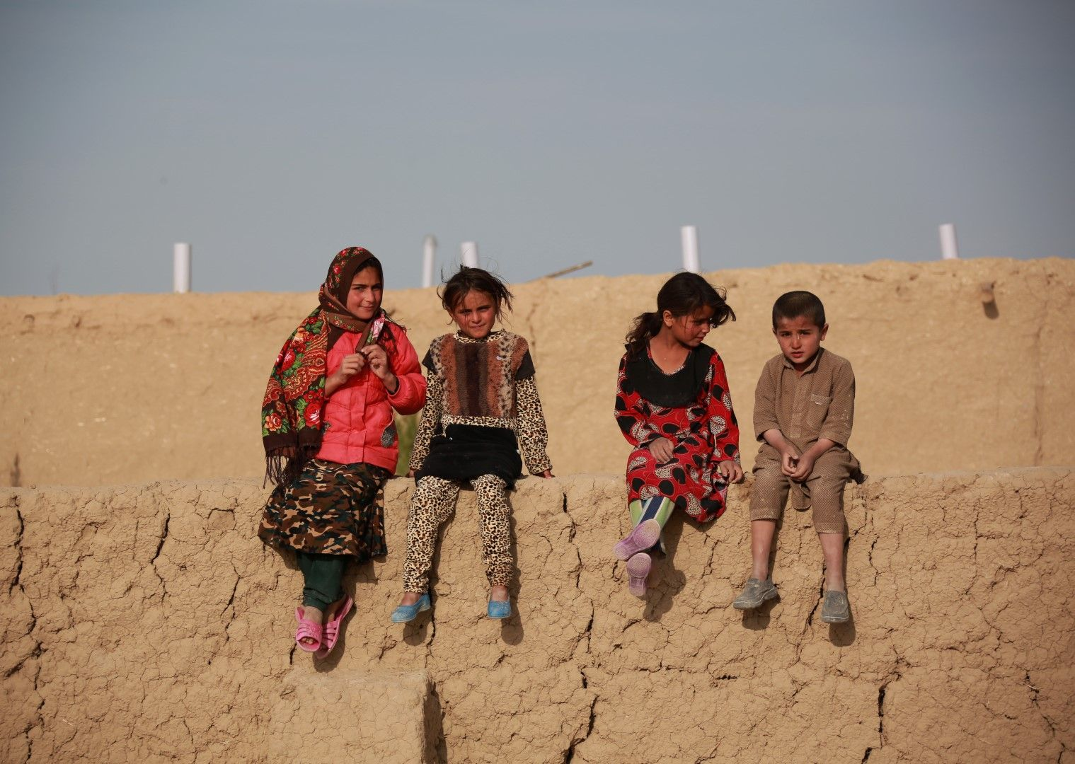 Деца в Афганистан