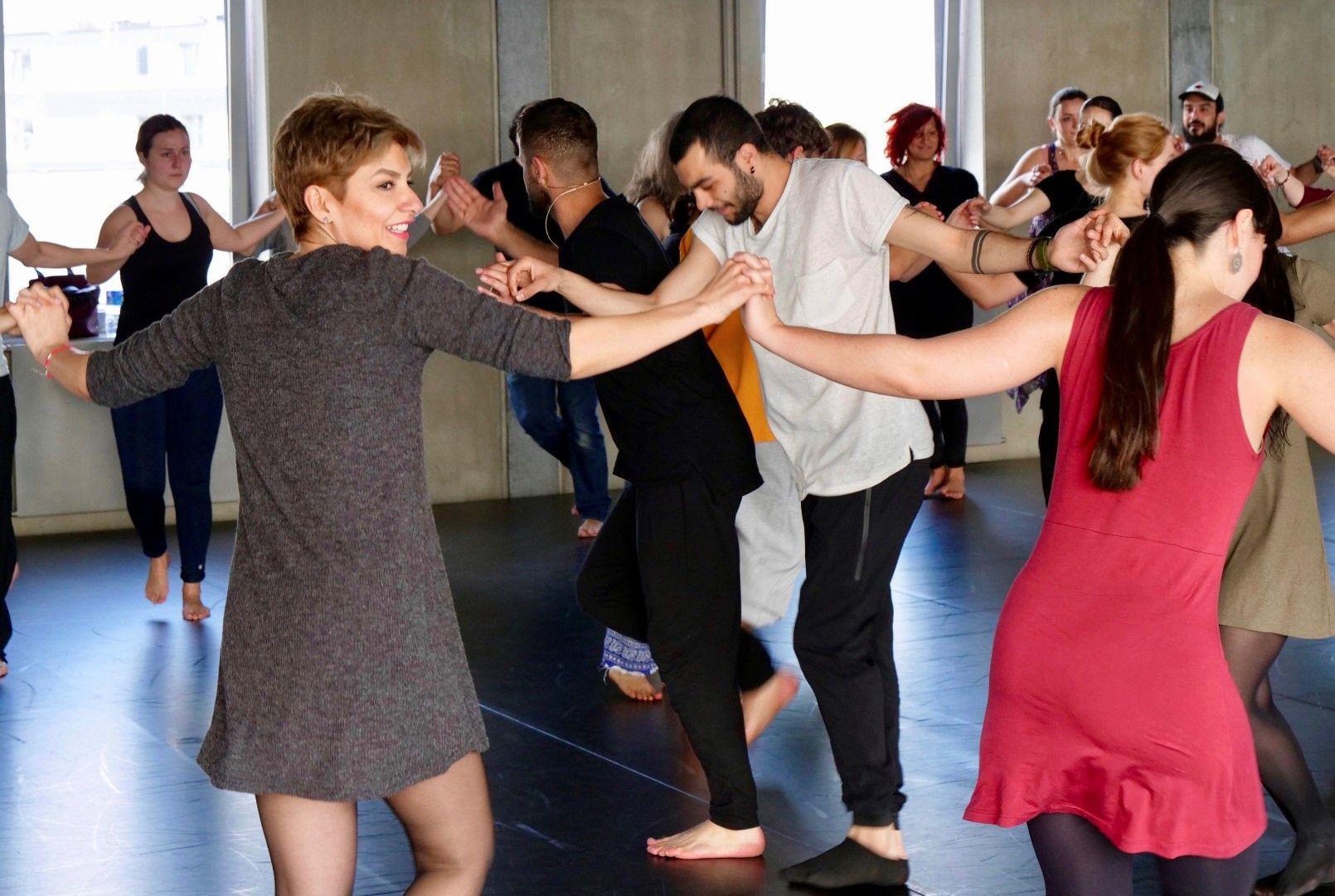 В Германия изучават сирийски народни танци