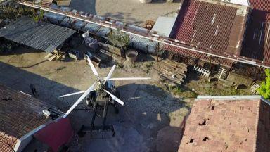 Незаконен вертолет с пилот пенсионер се приземил във Винпром-Свищов