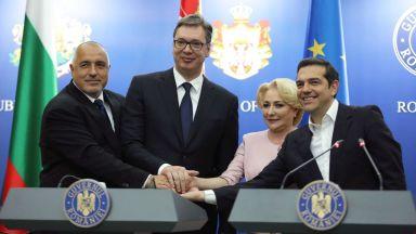Борисов горд от политическия елит на Балканите