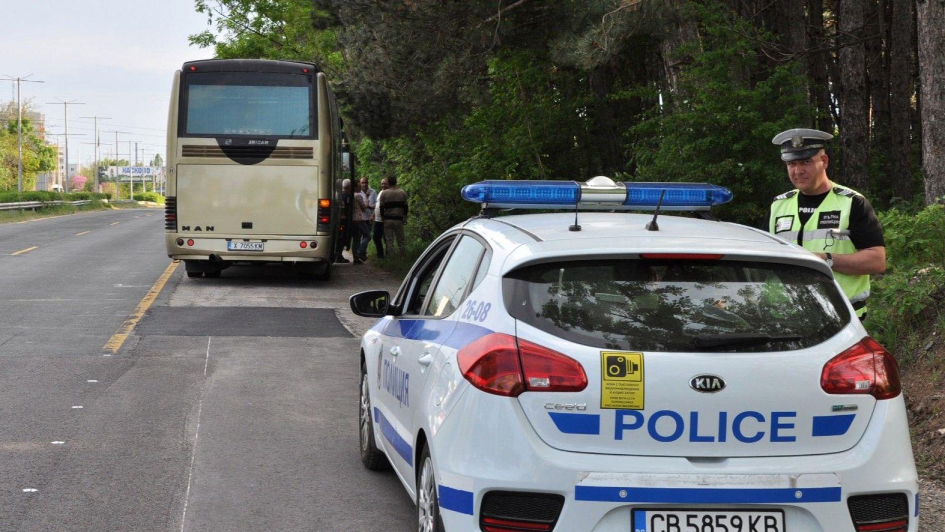 """Два пъти повече полицаи на АМ """"Марица"""" заради гастарбайтерите"""
