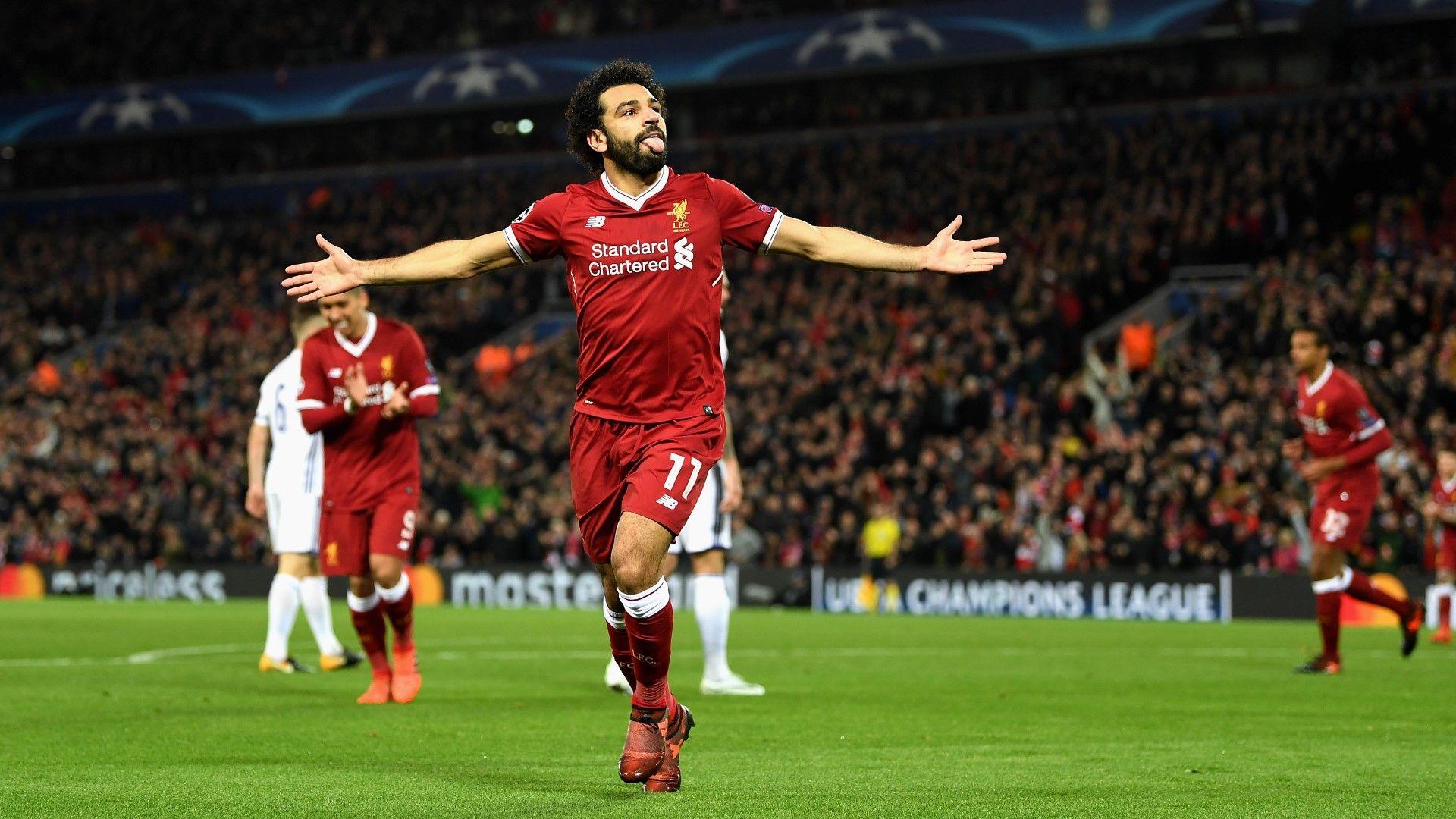 """Гол след гол, дебютният му сезон в """"Ливърпул"""" е паметен. Снимка: Getty Images"""