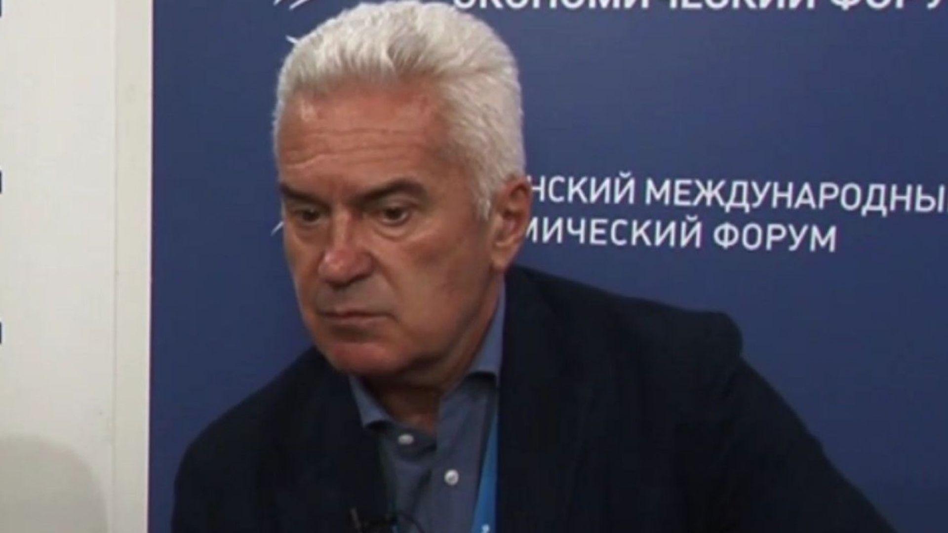 """Сидеров даде интервю на руски: """"Крым растет, идет к лучше"""""""