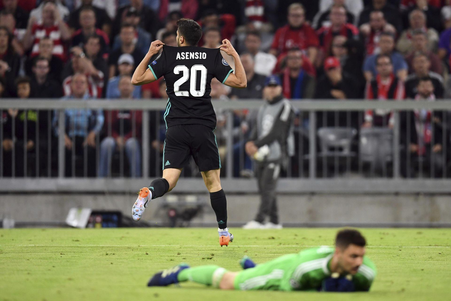 Асенсио е жокерът - донесе победата с гола си след контраатака. Снимка БТА