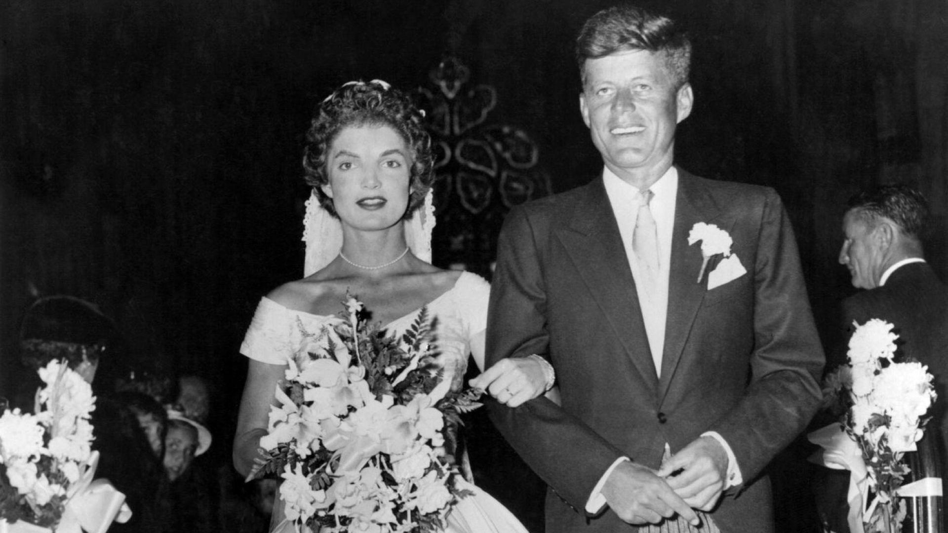 Сватбата на Джаки и Джон, 1953 г.