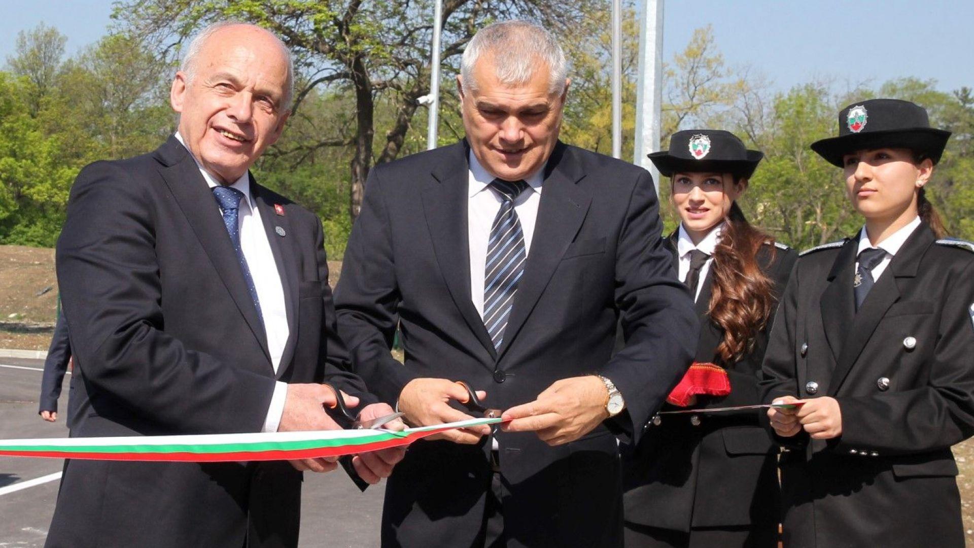 Нов полигон за обучение в МВР Академията с шейцарски средства