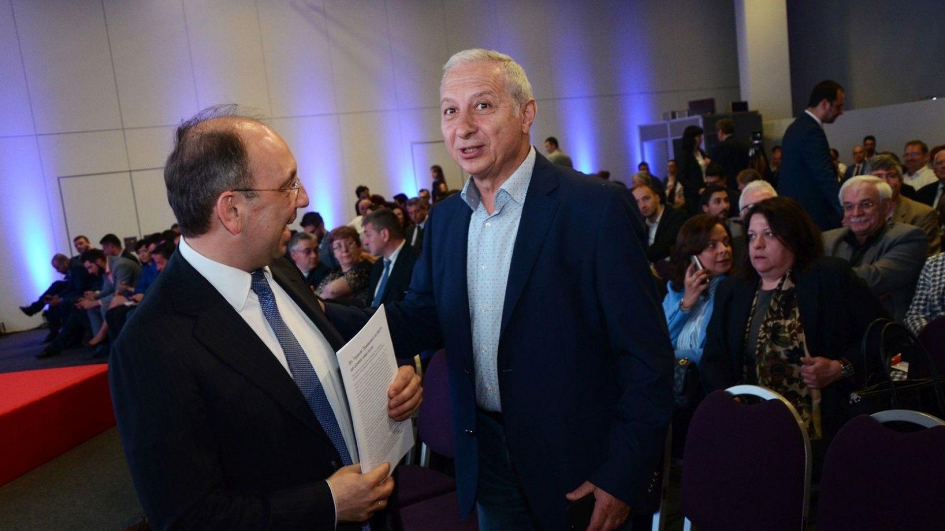 Николай Василев и Огнян Герджиков на конференцията Европа отново на път