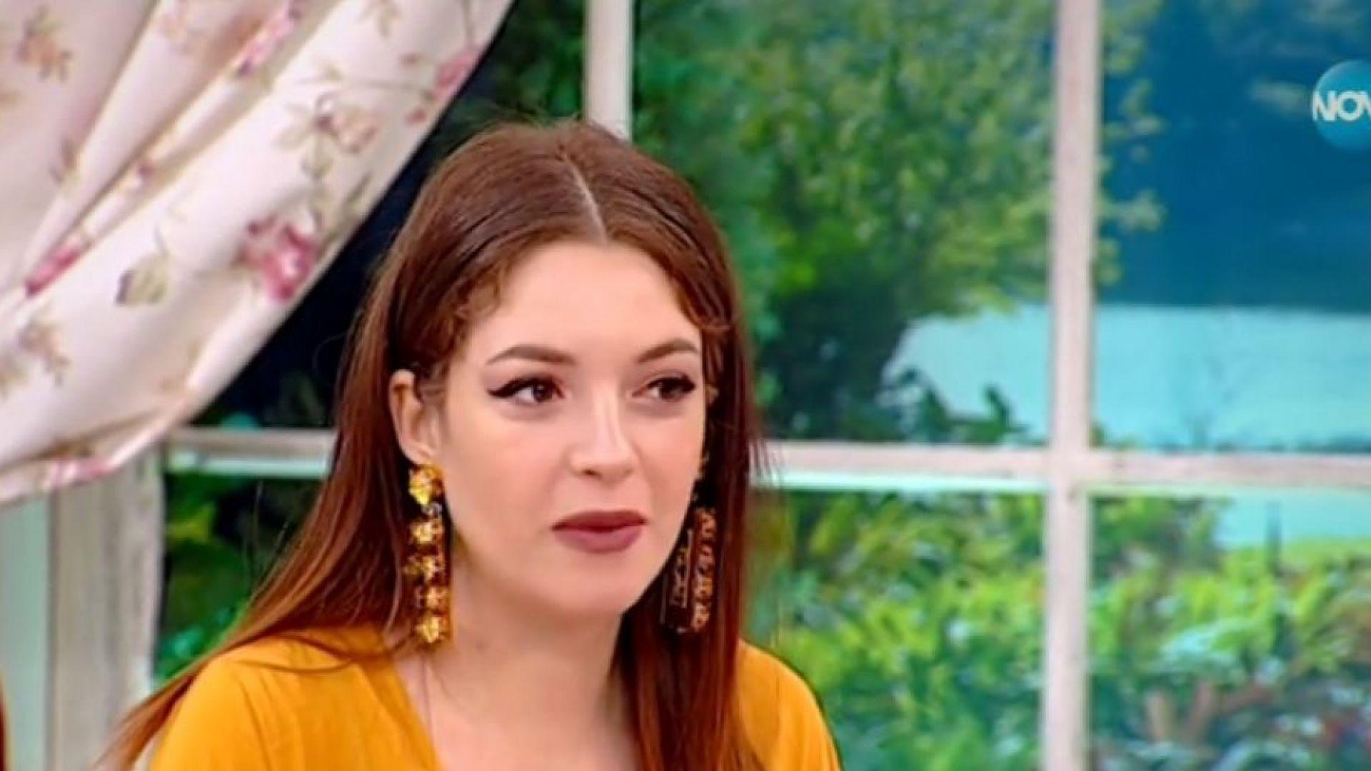 Глория Петкова: Беше ми много трудно да крия бременността си