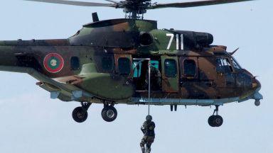 Българските ВВС демонстрираха способностите си пред висши военни от ЕС