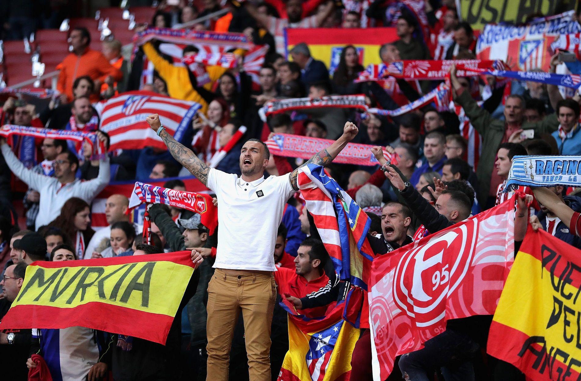 Страстните фенове от Мадрид