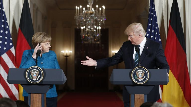 Меркел ще затопля отношенията си с Тръмп