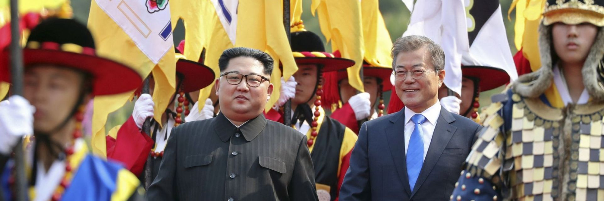 Ким влезе в Южна Корея, а Мун - в Северна