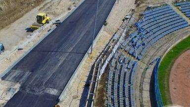 """Нов булевард """"отнесе"""" трибуна на стадион"""