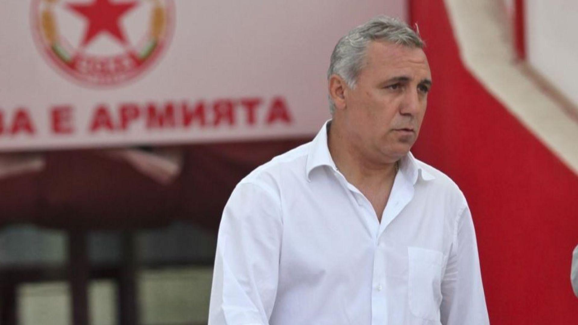 Стоичков се прибира от Маями за юбилея на ЦСКА