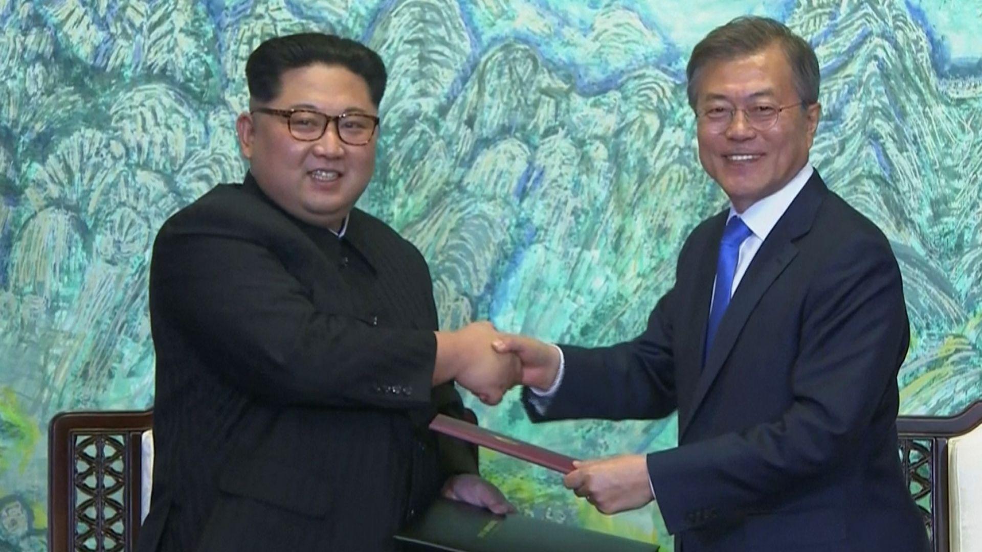 Историческа среща между Севера и Юга
