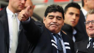 Марадона става директор по футбол на средняк в Беларус
