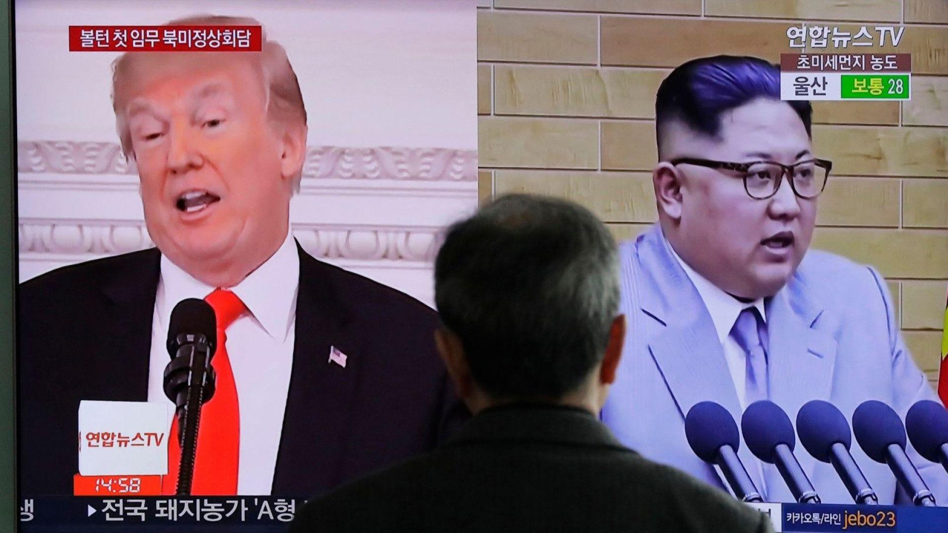 Светът остава нащрек за Северна Корея. Тръмп запазва натиска