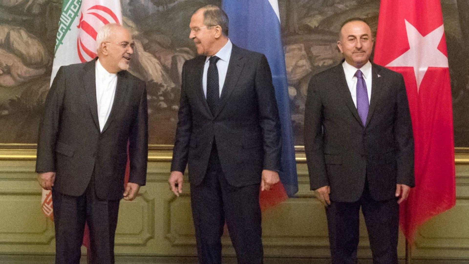 Русия, Турция и Иран потвърдиха интересите си в Сирия