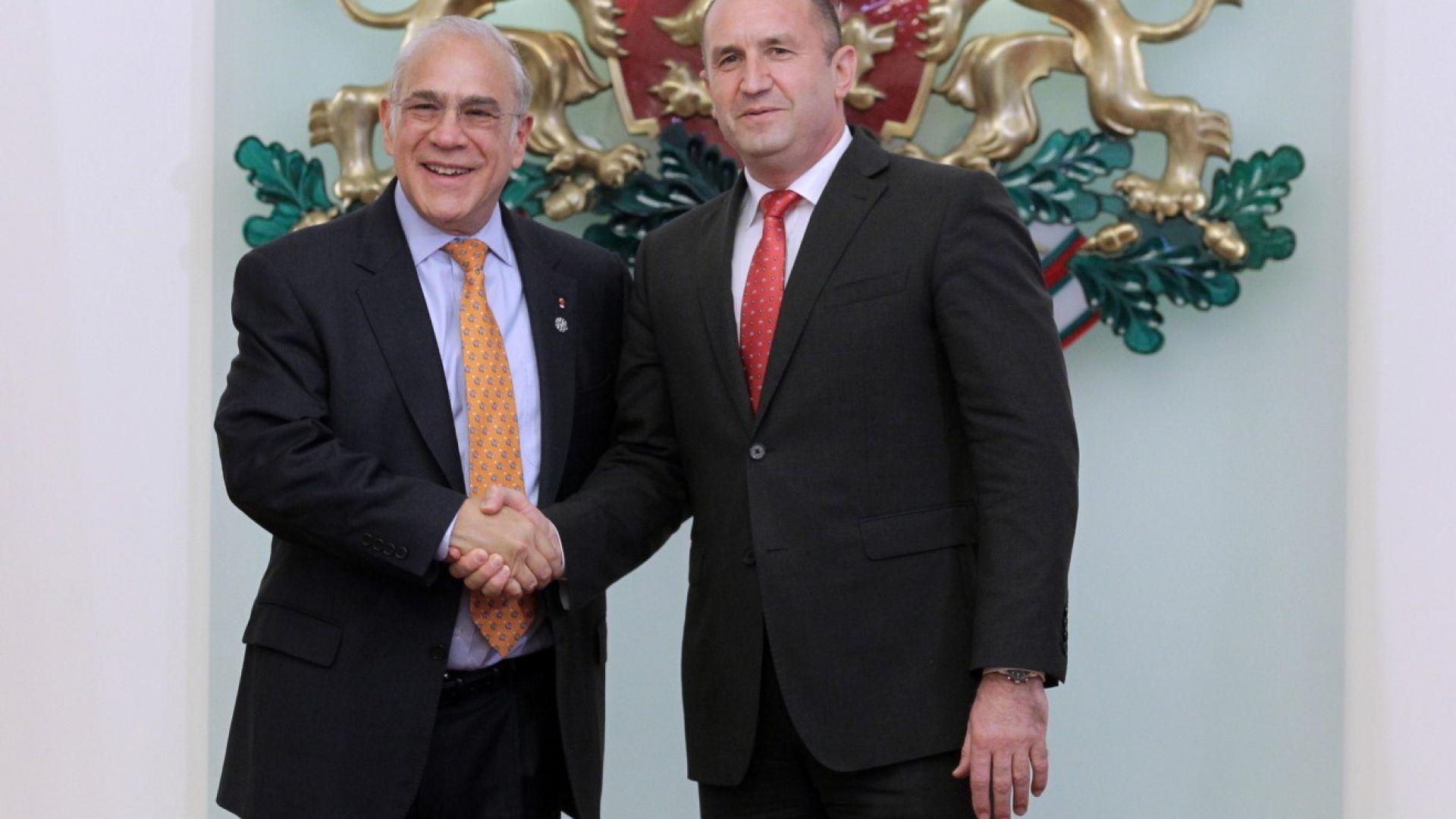 Радев: България да получи дата за преговорите за присъединяване в ОИСР