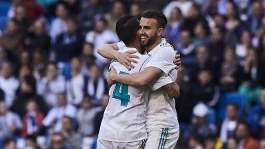 """Резервите на """"Реал"""" с измъчена победа"""