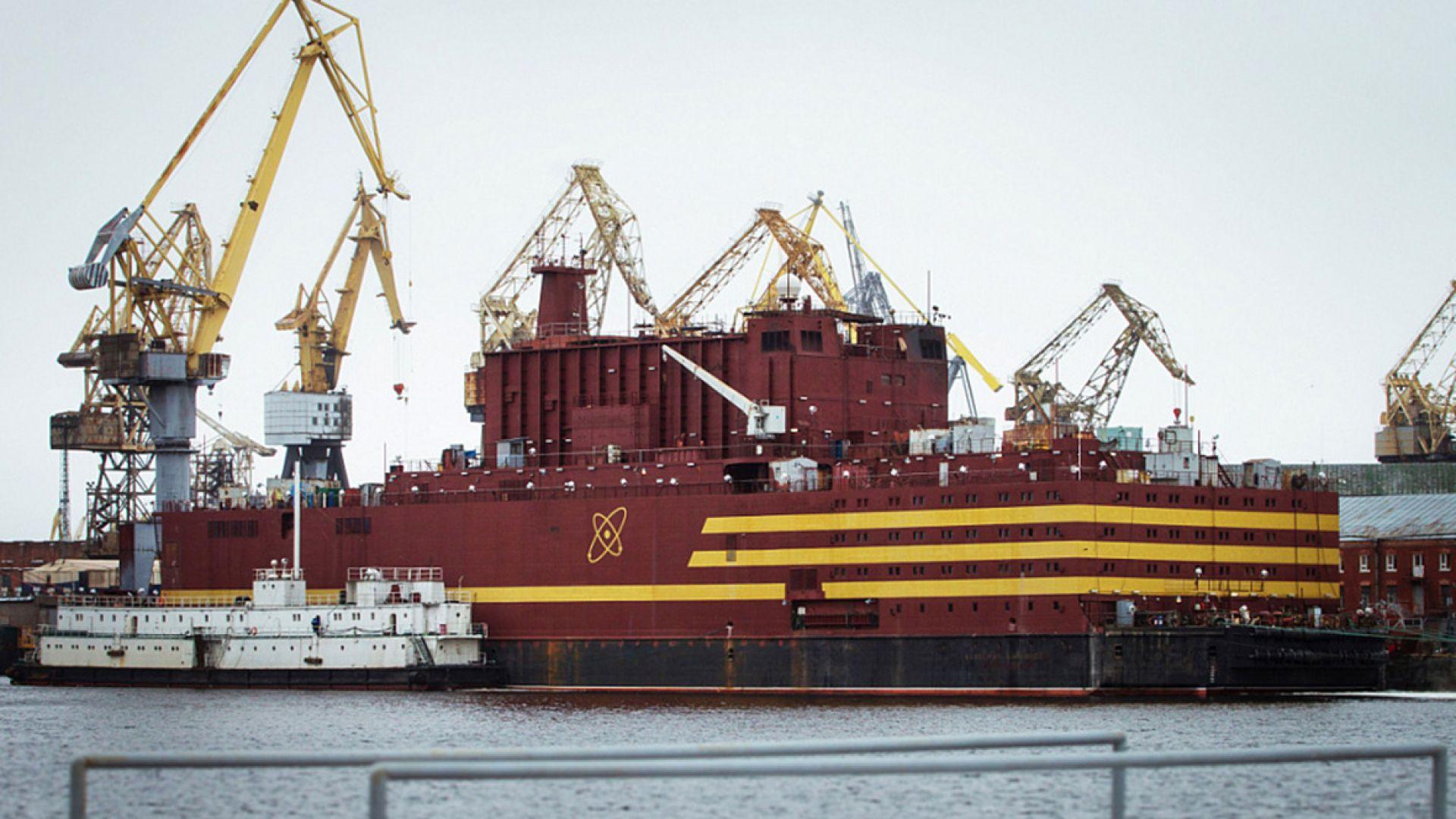 Русия пусна плаващ АЕЦ