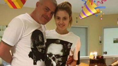 Първа снимка на Кристин след катастрофата с Дивна