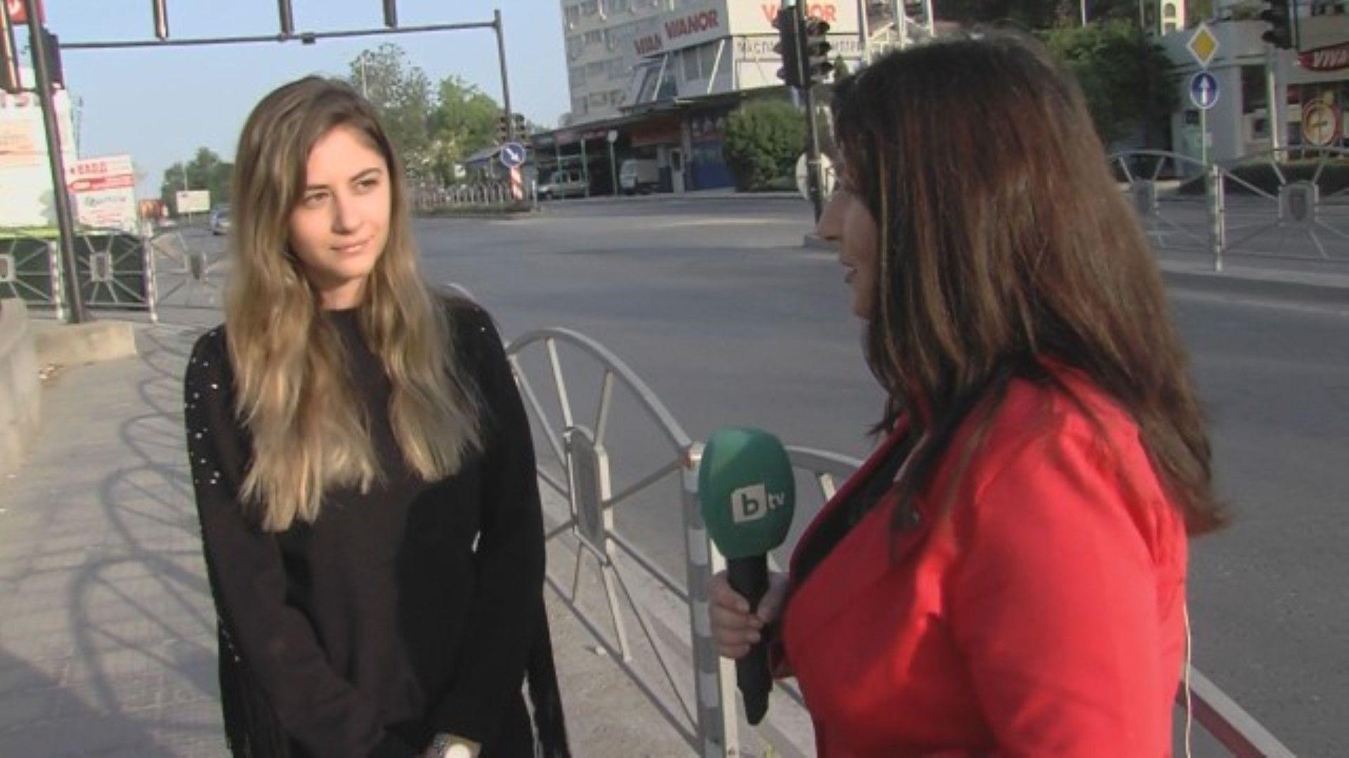 Мария Йотова е заснела случилото се