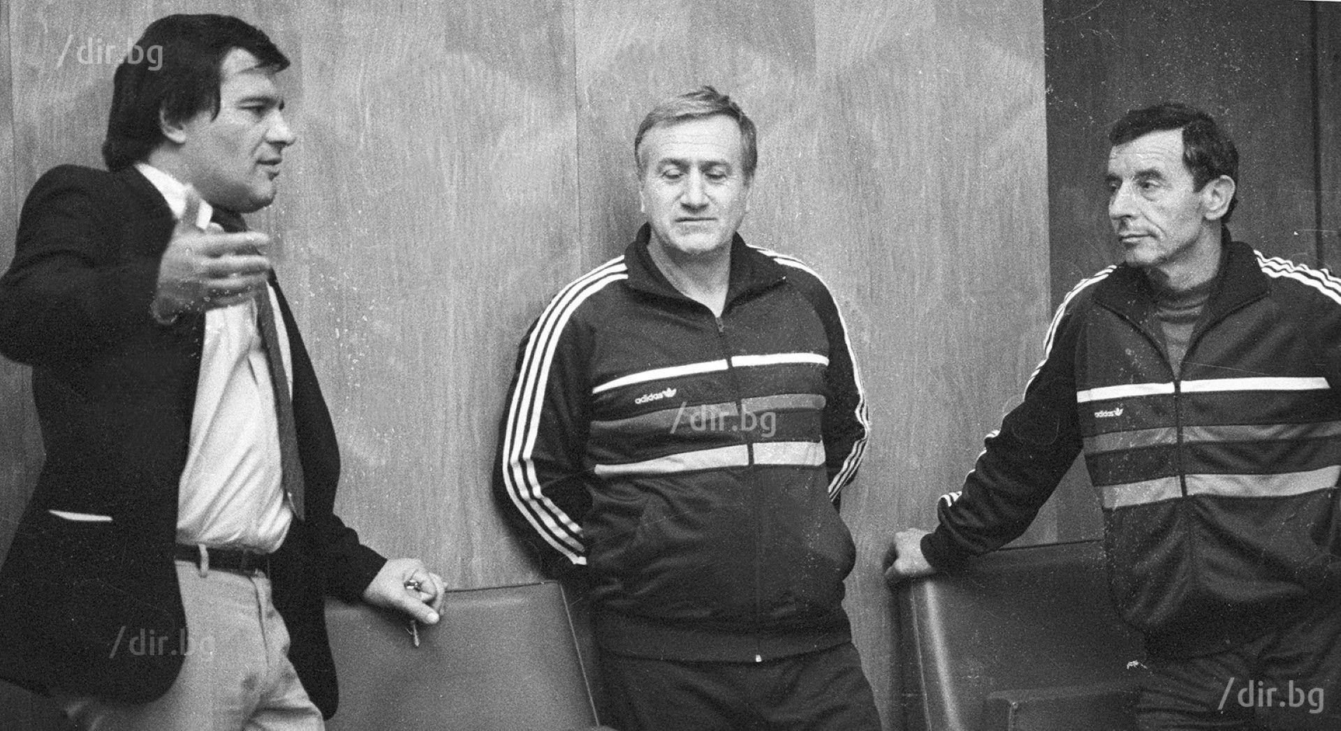 С човека, превърнал вдигането на тежести у нас във фабрика за медали и шампиони - Иван Абаджиев, също покойник. Снимка: ИВАН ГРИГОРОВ