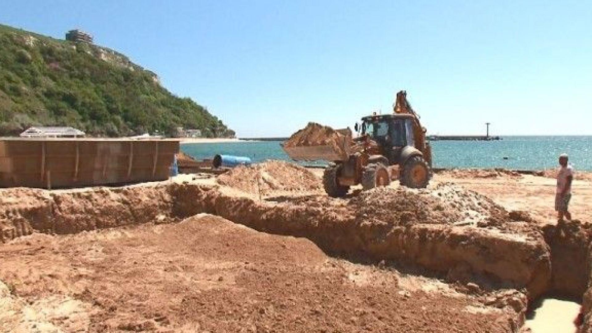 Изкоп на плажа в Каварна разбуни социалните мрежи