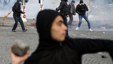 Масови безредици в Париж за 1 май