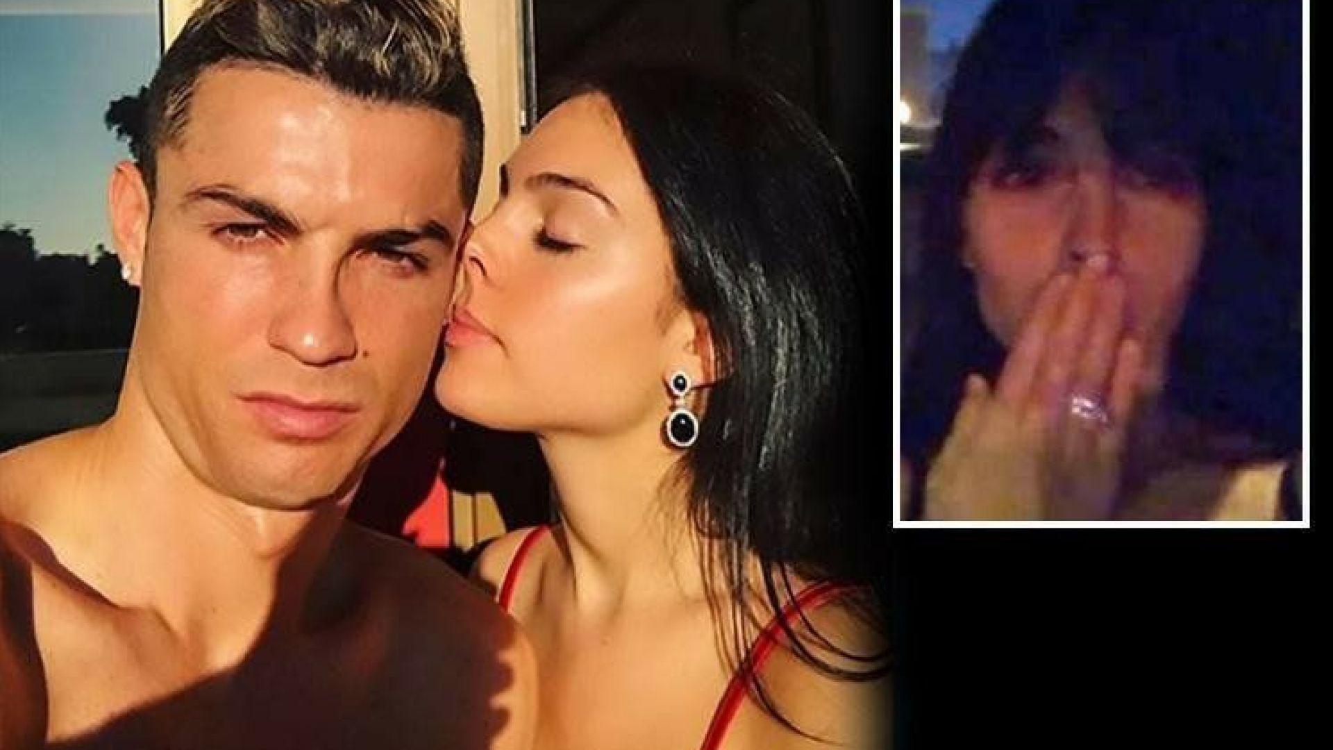 Кристиано Роналдо се сгоди за Джорджина?