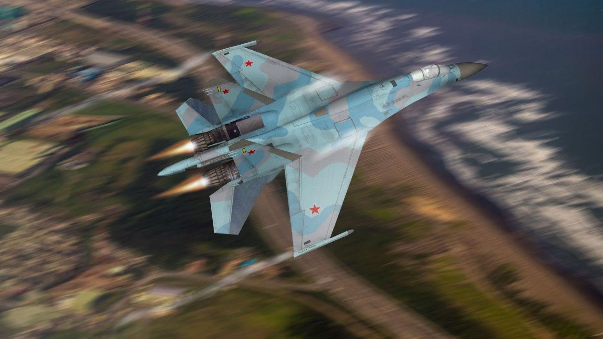 Опасно сближение на руски и американски военни самолети над Балтийско море