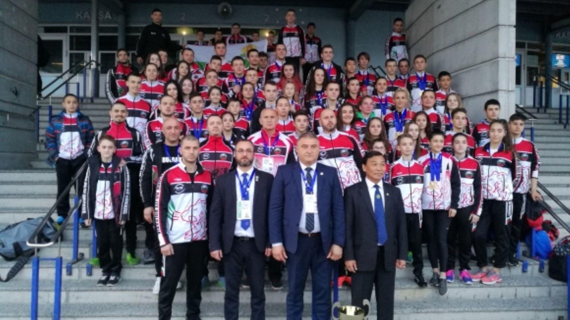 България с 11 титли от Европейското по таекуондо