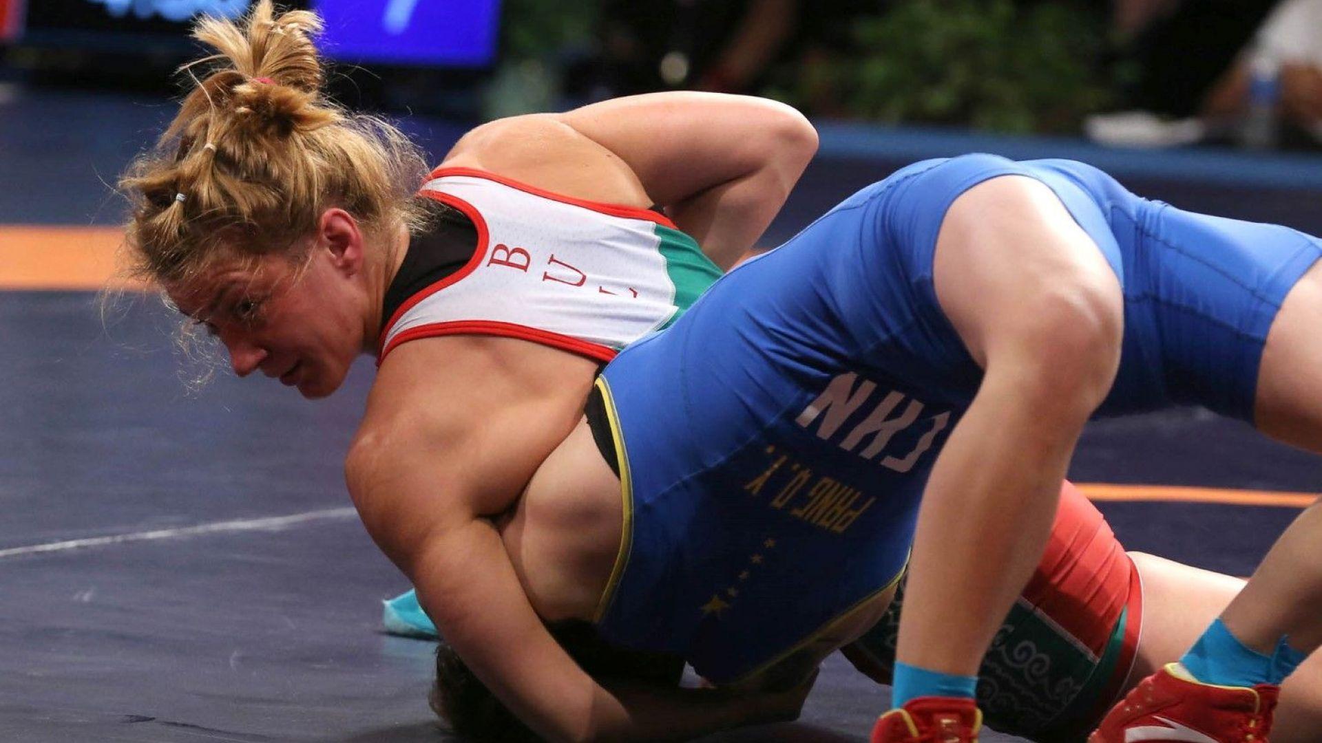 България с две полуфиналистки на Европейското по борба