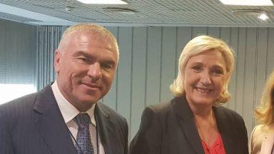 Марешки посреща Марин Льо Пен в София на 16 ноември