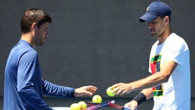 Треньорът на Григор: Който го сравнява с Федерер, не разбира нищо от тенис