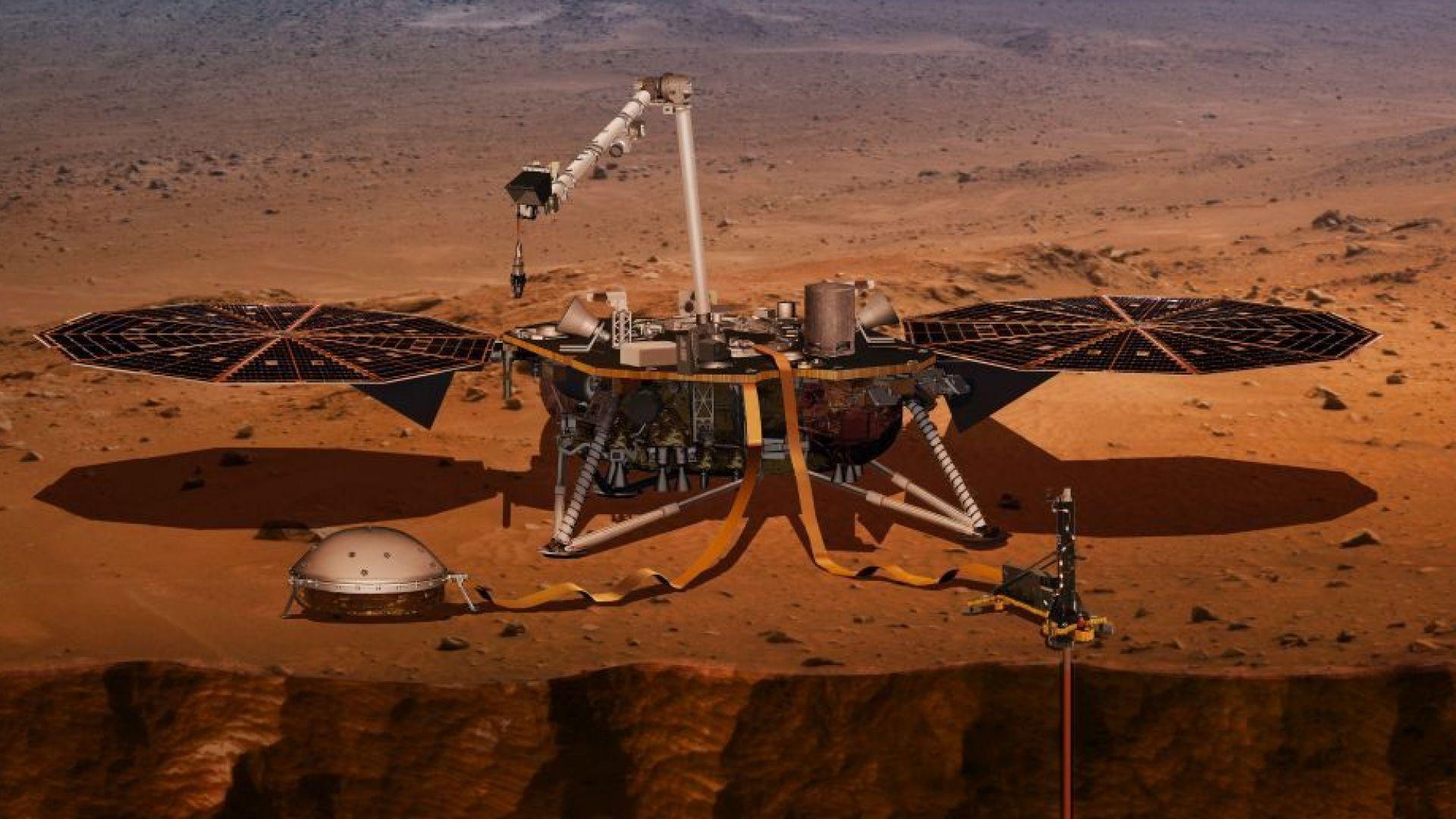 НАСА изпраща робот-геолог на Марс