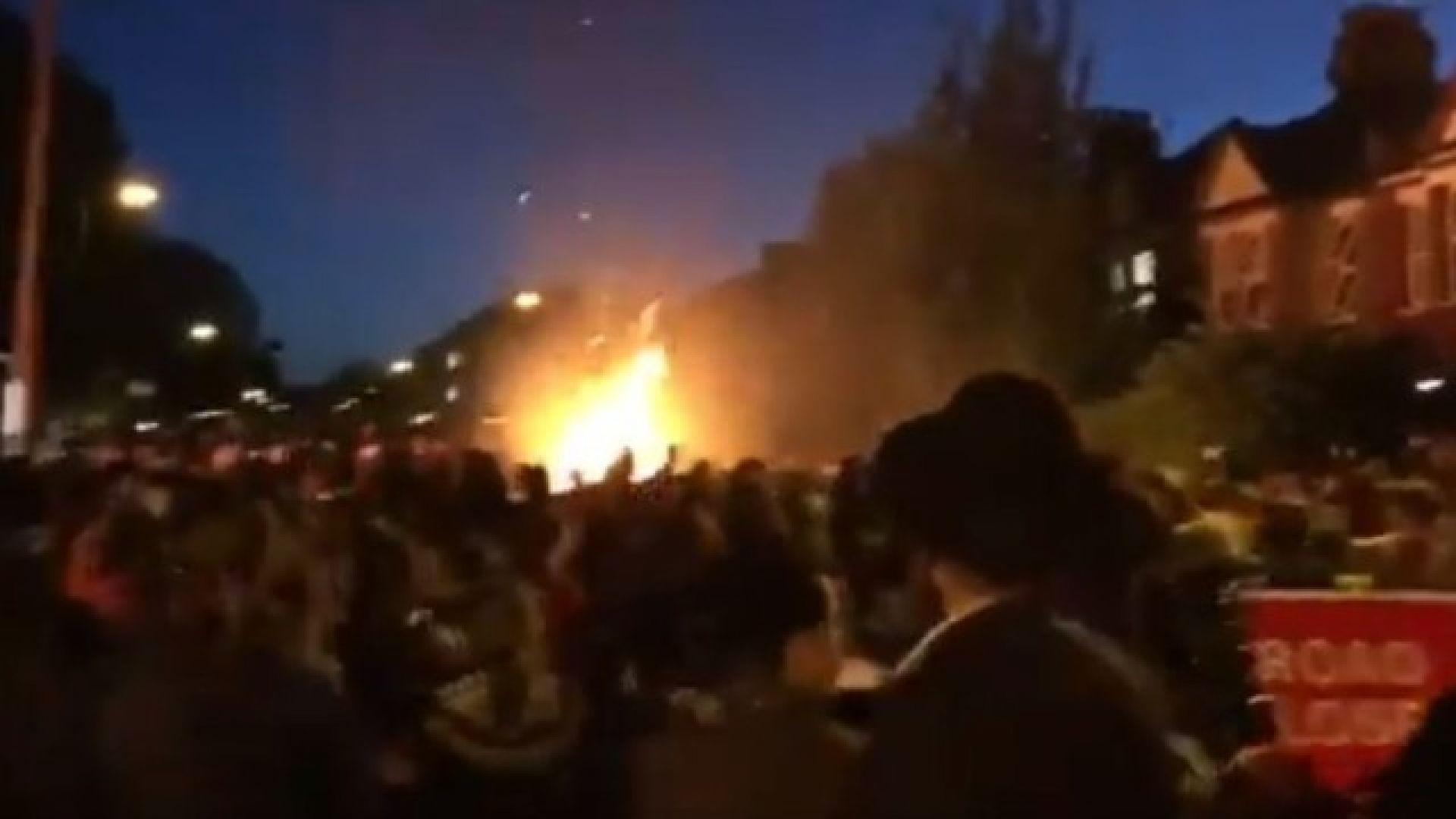 Експлозия в Лондон на еврейски празник, 10 души са с изгаряния