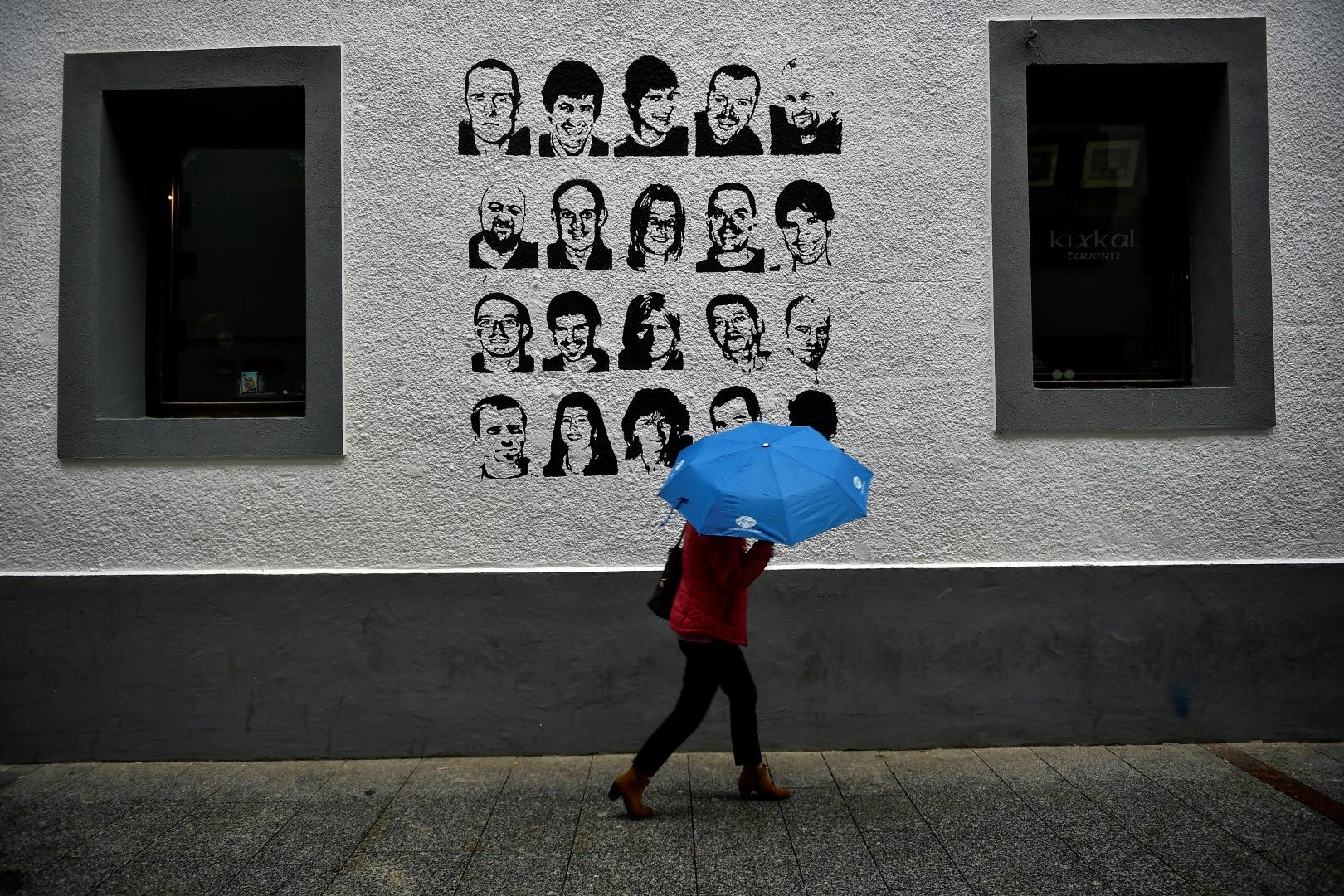 Портрети на членове на ЕТА, които са в затвора