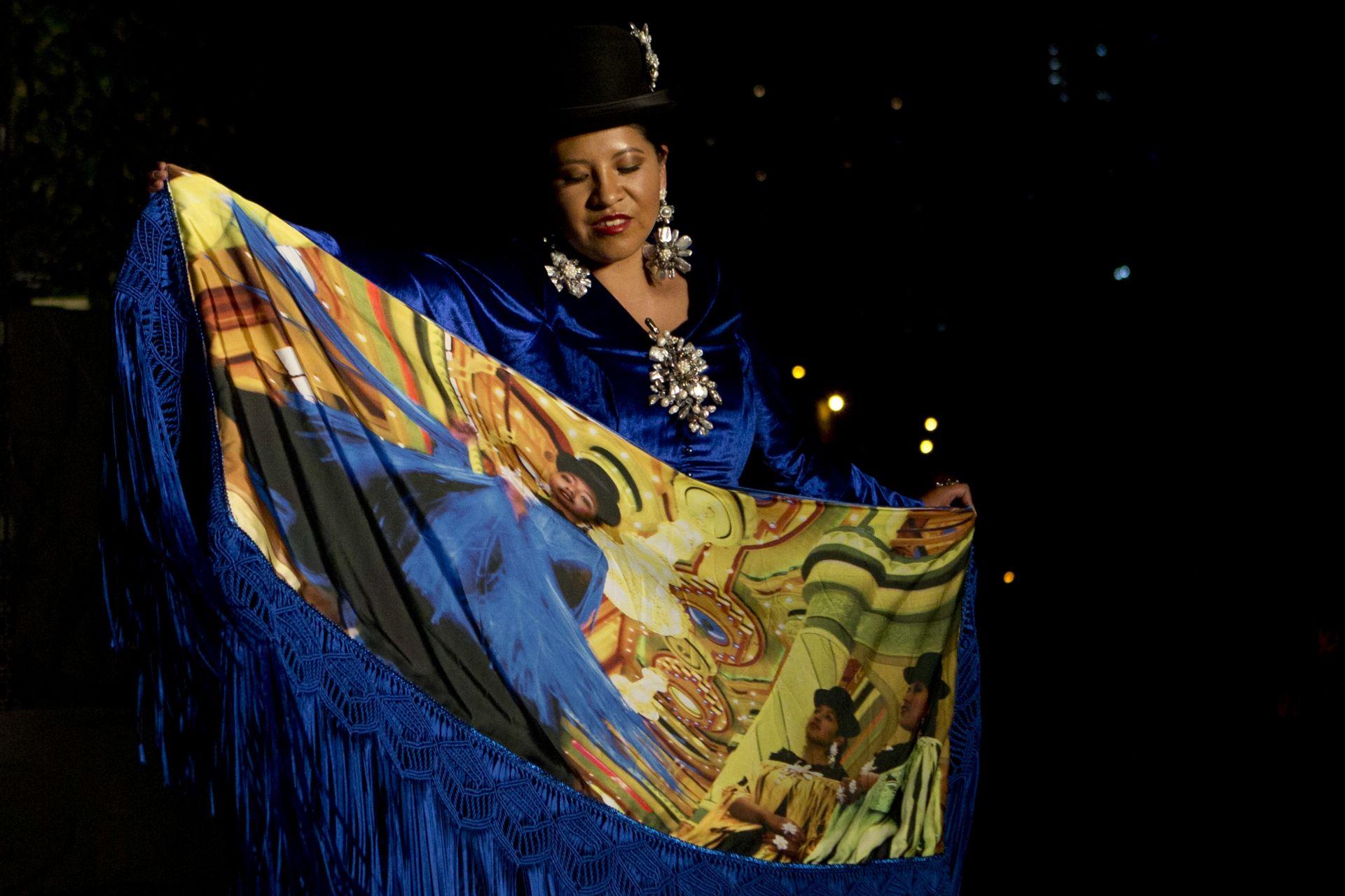 Модно дефиле в Боливия