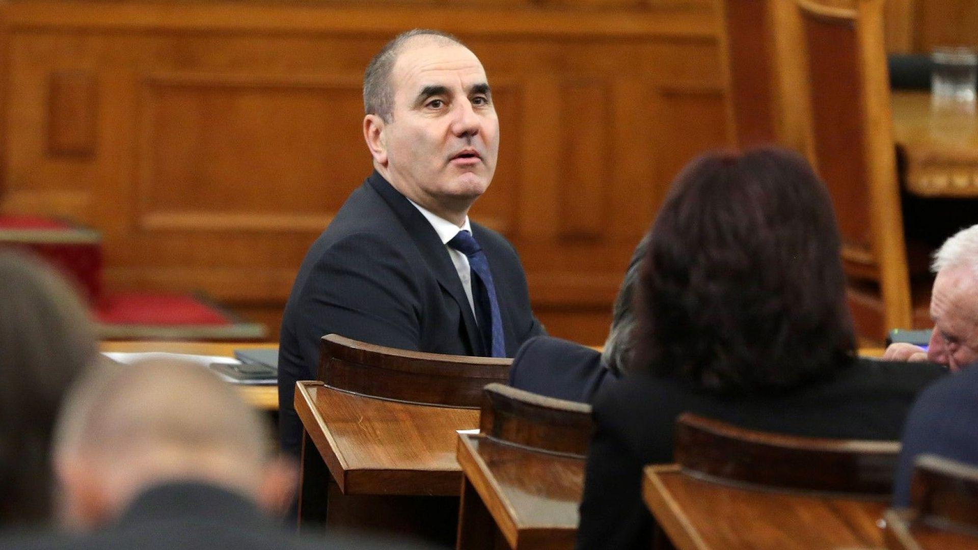 """Цветанов: ГЕРБ и """"Обединени патриоти"""" имаме над 121 депутати, няма криза"""