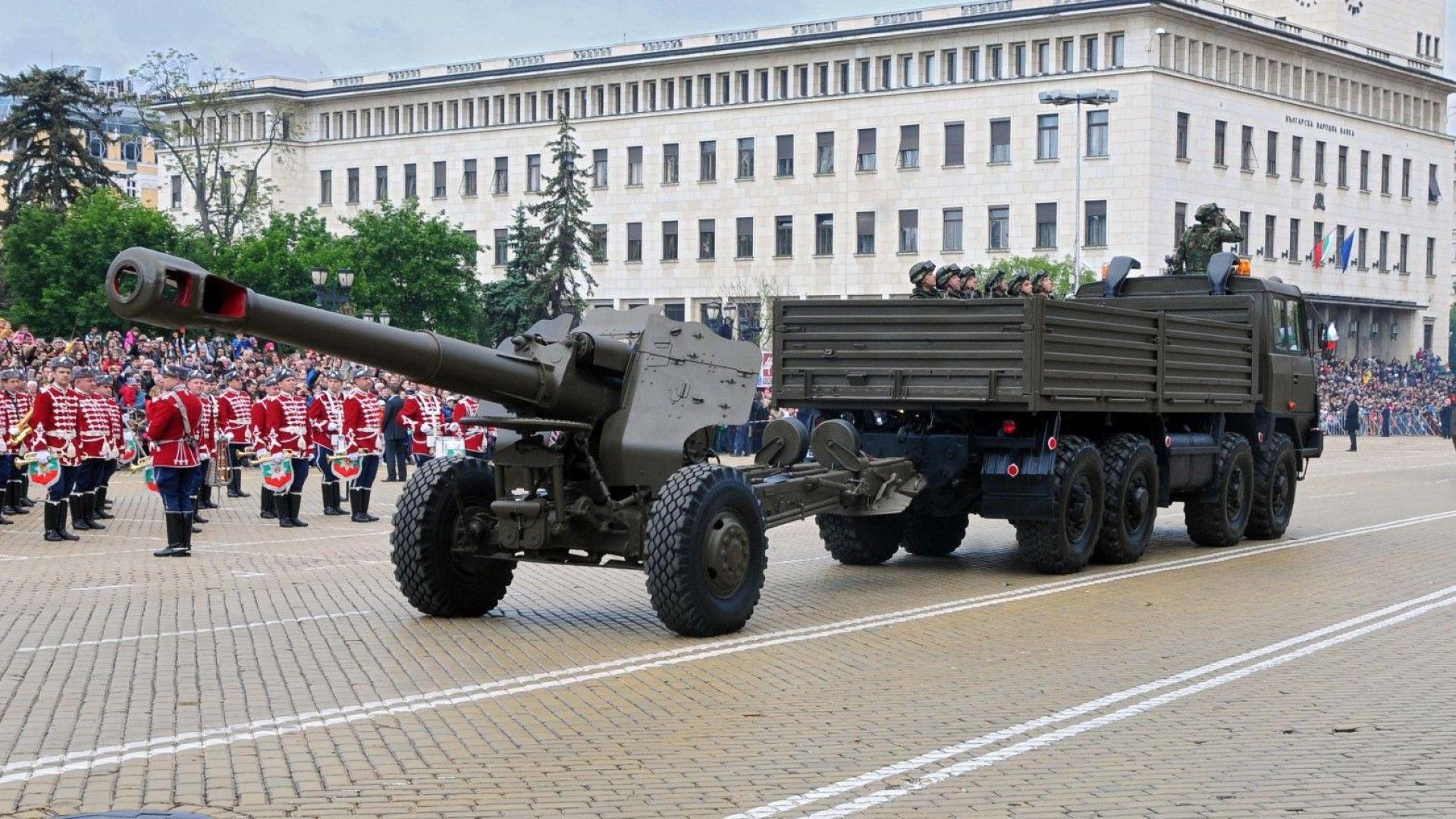 Танкове и ракети потеглят към София за парада на Гергьовден