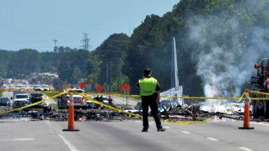 US самолет се разби при последния си полет