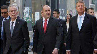 Трима президенти обсъждат в Русе обединена Европа и Дунавския регион