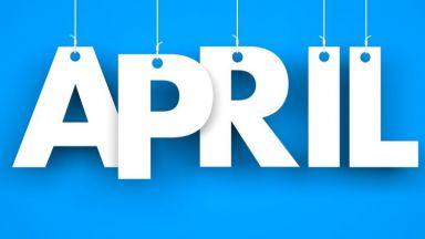 Април - най-топъл на Балканите, в Калифорния и Сибир