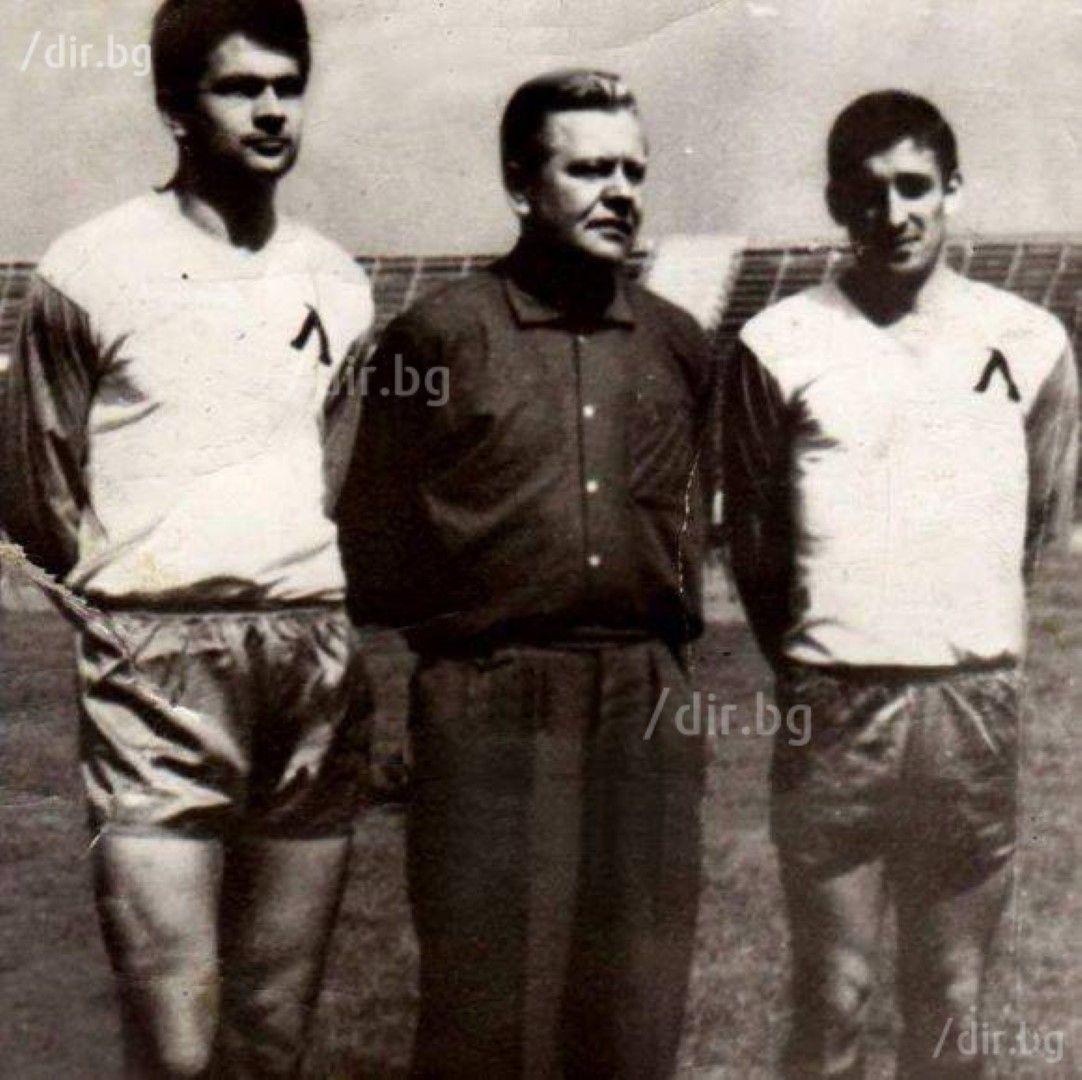 Гунди, Соколето и Рудолф Витлачил. Снимка: ИВАН ГРИГОРОВ