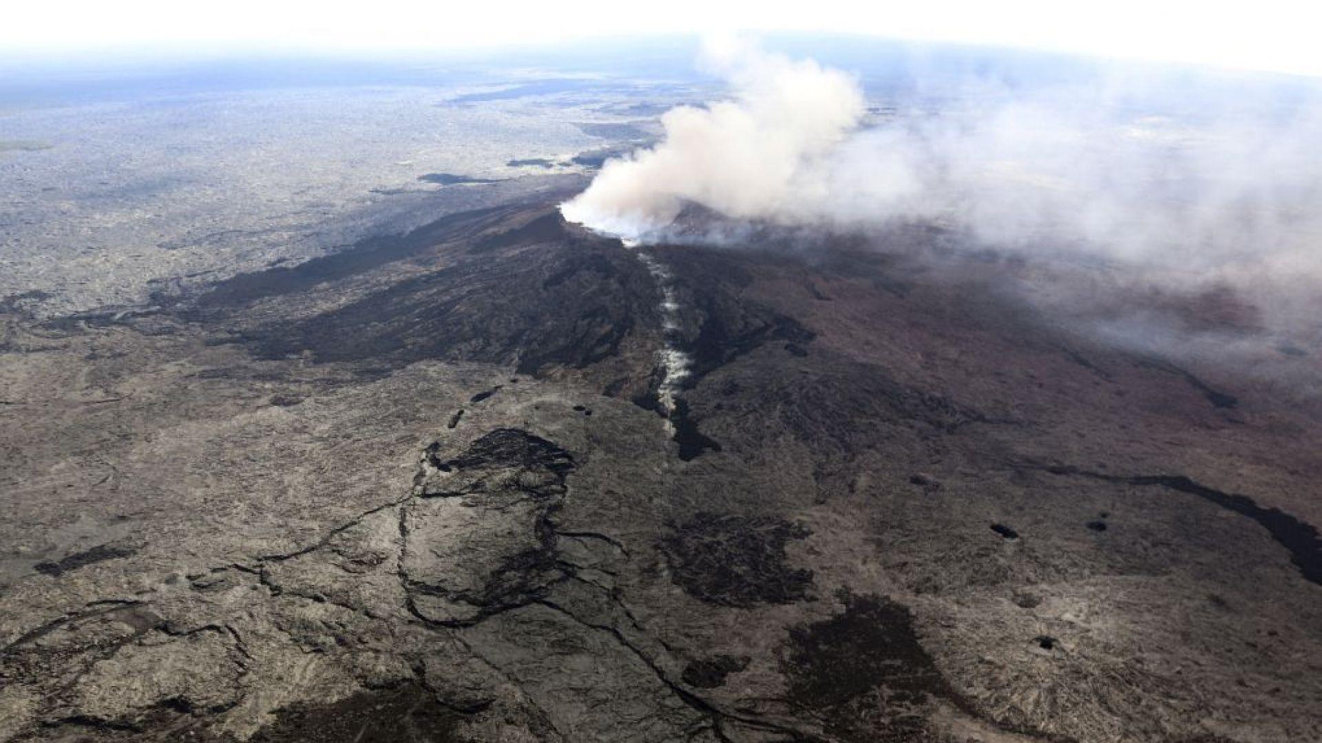 Поредица трусове в Хавай след изригването на вулкана Килауеа