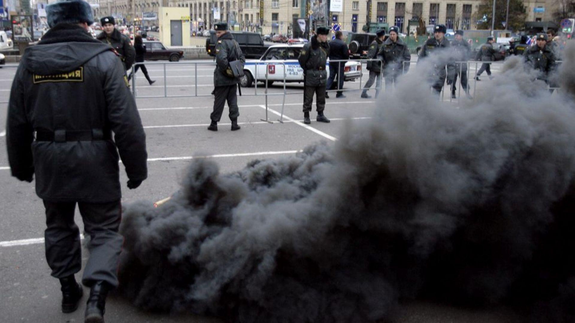 Привърженици на Навални протестират срещу Путин