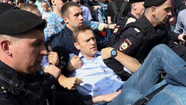 Европейският съд: Русия да плати на Навални 63 000 евро заради политически арести